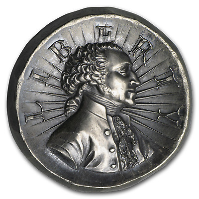 3 oz Outré High Relief Silver Round - Washington - SKU#181865