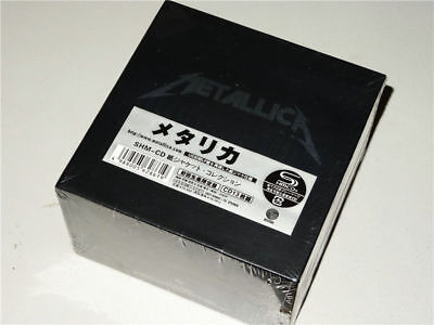 "Metallica ""The Album Collection"" 13 CD Mini-LP Japan Box Set Free shipping"