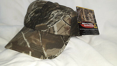 1d3ab1e667d New Realtree Hardwoods Camouflage Camo Hat Cap with tags Adjustable to fit  most