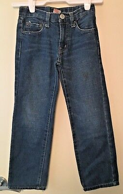 Kids Piping Hot Blue Denim Jeans  ~Size 7~ Vgc