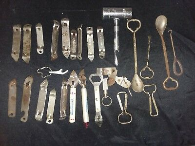 huge lot of Different Vintage Bottle Openers/advertising pieces