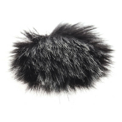 Andoer Furry Outdoor Microphone Windscreen Muff Mini Lapel Lavalier O0J3