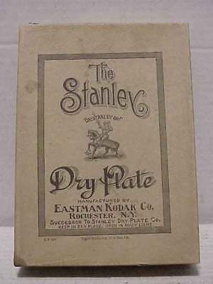 The Stanley Dry Plate 4x5 Eastman Kodak Co. Rochester NY Box Free Ship