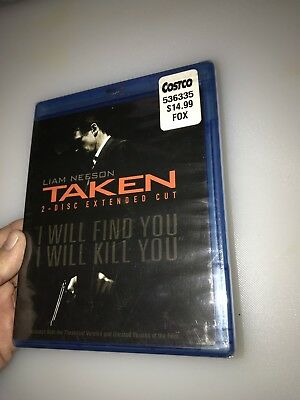 Sealed Unopened Blu-Ray TAKEN  2 Disc Extended Cut DVD  ~ FREE SHIPPING!
