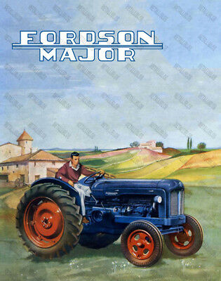 Fordson Major - Poster - A3 Size - NEW