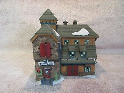 Dept 56, Heritage Village, New England Village, Mc Grebe Cutters and Sleighs.