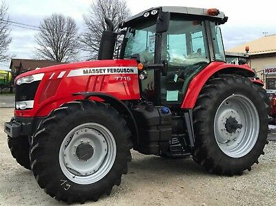 Massey Ferguson 7700 Series Tractors - Workshop Manual.