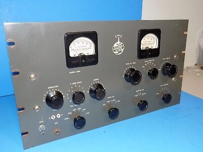 Vintage Wrl Globe King 500A Transmitter Modulator And Power Supply - Will Ship