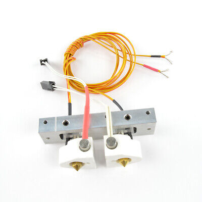 Replicator 2X Bar Mount Assembly w/ Stranded Thermocouple