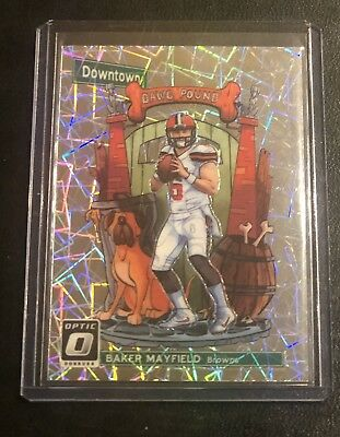 Baker Mayfield Downtown Ssp 2018 Optic Browns Rookie Rc Rare