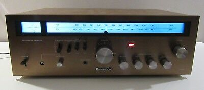 Panasonic Ra-6100 Stereo Receiver Amp Works Perfect Serviced Led Upgrade
