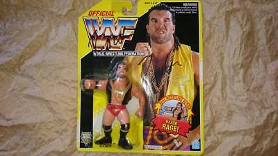 Hasbro WWF Wrestling Razor Ramon  Figure with autograph WWE  unopend