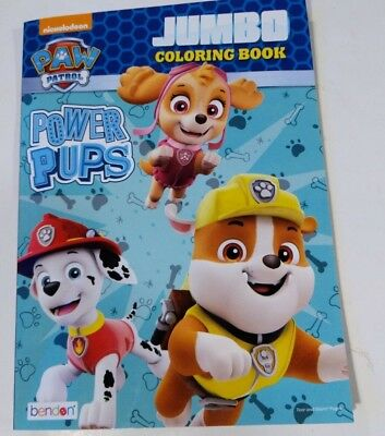 Nickelodeon Paw Patrol Jumbo Coloring And Activity Book Power Pups 96 Pages