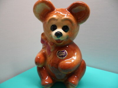 Vintage 1950's Royal Copley Bear Vase