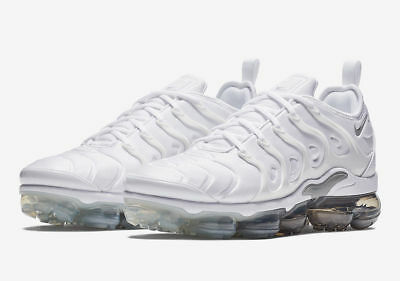 Nike Air VaporMax Plus Shoes Pure Platinum White 924453-102 Men's NEW