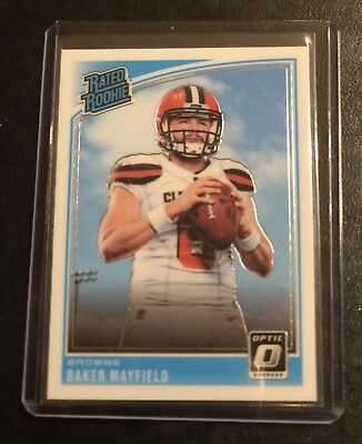 Baker Mayfield Rated Rookie 2018 Optic Browns Rc Roy