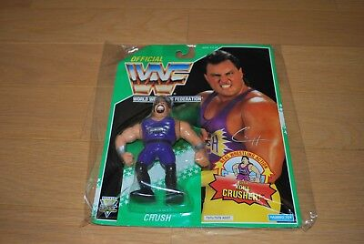 Hasbro WWF Wrestling Evil Crush Figure  WWE  unopend    2