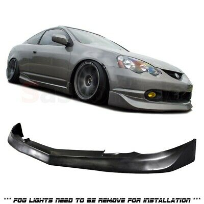 Made for 2002-2004 ACURA RSX DC5 MU Style Front Bumper Lip (Urethane) Black PU