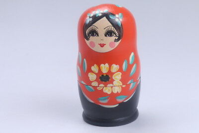 Nesting Doll Russian Doll Matryoshka Hand Painted Moscow Traditional bb570