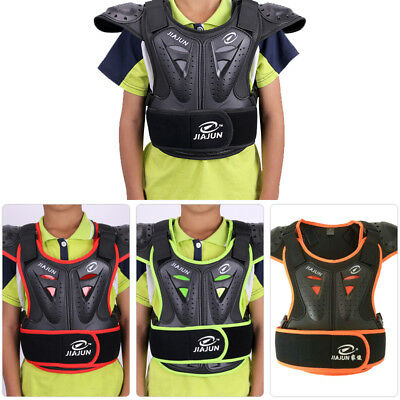 Child Racing Youth AirFrame Chest Protector Vest Guard Motocross Kid Body Armour