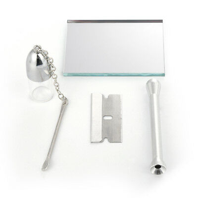 Cigarette Accessories Mirror Snuff Kit Snorting Set Sniff Bottle tobacco herbal
