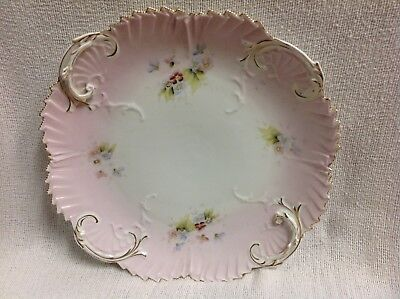 Antique Victorian large ornate French style platter beautiful