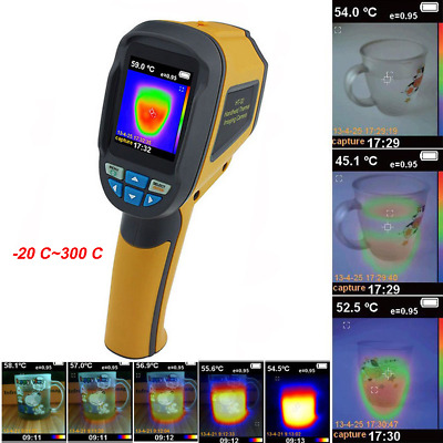 HT-02D Handheld IR Thermal Imaging Camera Infrared Thermometer Imager 32x32
