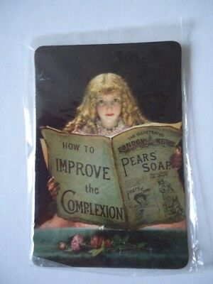 New Sealed Fridge Magnet Pears' Soap 'how To Improve The Complexion'