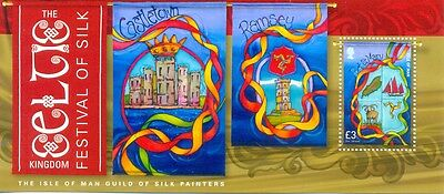 Isle of Man-Silk Painters min sheet mnh(2014)