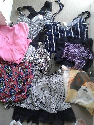 Nine items size 18+ millers , belle curve, katies, H&M , M&S