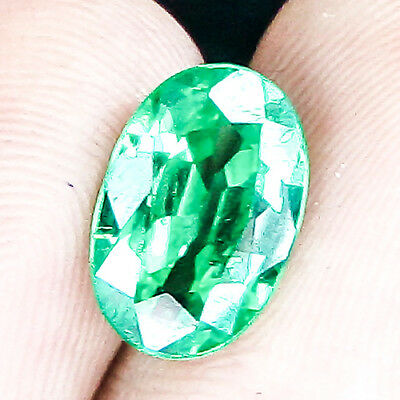 6.40 Cts 100% Untreated Earthmind Very Rare Strong Green Tsavorite Garnet