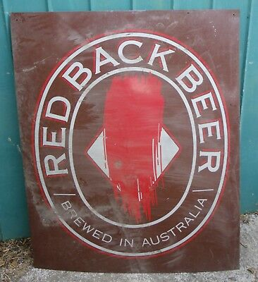 Redback Beer BREWED IN AUSTRALIA Sign