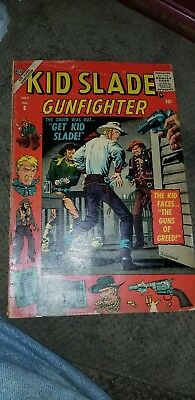 Kid Slade Gunfighter #8 1957 comic book