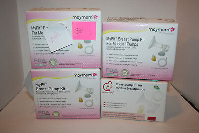 Maymom Nenesupply 24mm Breastpump Kit Compatible w/Medela Pumps - 4 Sets