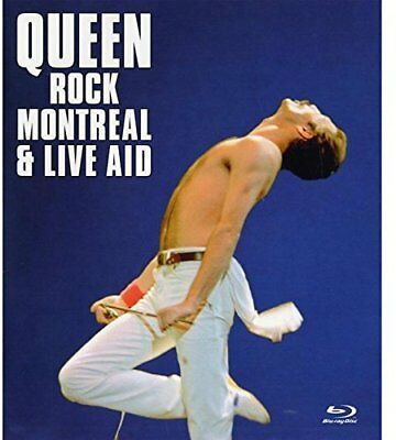 Queen - Rock Montreal & Live Aid - Blu-Ray (All Regions) - New