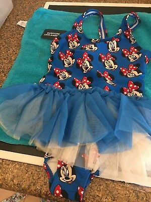 Rock Your Baby New Season Minnie Mouse Tulle Costume  Sz 4 Bnwt