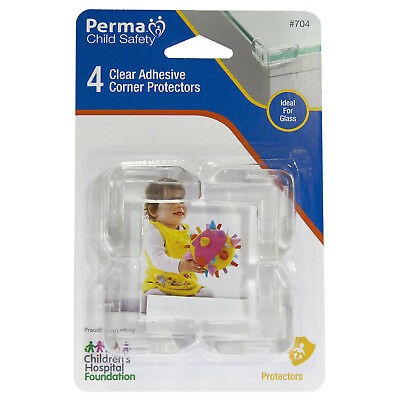 Perma Child Safety Corner Protectors Protect Child From Sharp Corner - 4 Pack
