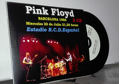 Pink Floyd-Doble Cd-Edition Special-Live Barcelona 1988  Fans Club-Very Rare