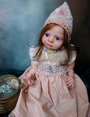 "Reborn (Fairy) Baby Doll Kit  ""Jasper"" By Denise Pratt"