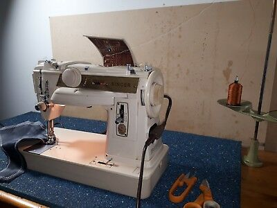 Famous Singer 411G Heavy Duty Sewing Machine