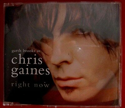 CHRIS GAINES right now HDCD CD SINGLE Werbe-capitol 2000