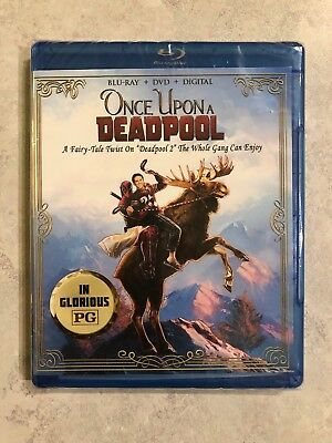 MARVEL Once Upon a Deadpool DP 2 PG Blu-ray + DVD Canadian Bilingual *LOOK*