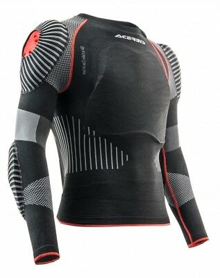 Acerbis X-Fit Pro 2.0 Adult Soft Body Armour Jacket Deflector Mx Racing L/xl