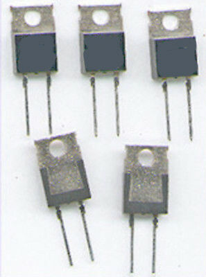 5  x  MUR860  ULTRAFAST  DIODE  600V  8A  TO220   TOP