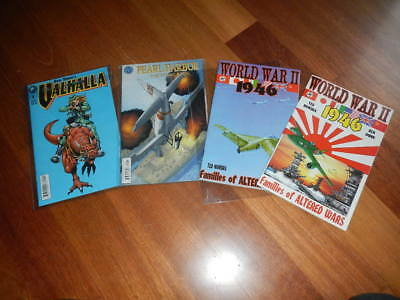 WWII 1946 Families of Altered WarsPearl Harbor Comic Book Valhalla Dunn Nomura