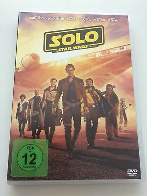 SOLO - A Star Wars Story ***DVD👍🏻👍🏻👍🏻2018 Top👍🏻