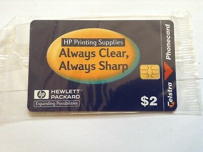 Phone card $2 unused HP Printing supplies