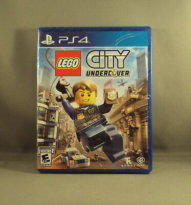 Lego City Undercover - Playstation 4 Ps4 - Brand New Factory Sealed