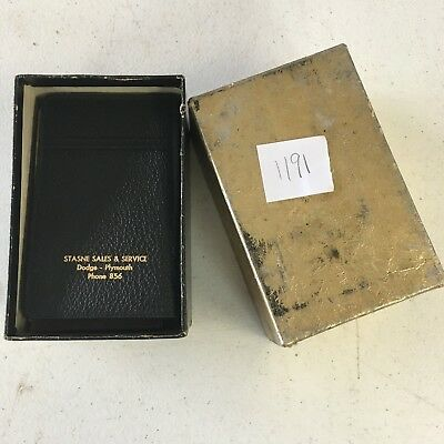 Vintage Dodge Advertising - monthly note pads - Stasne Sales & Service Monroe MI