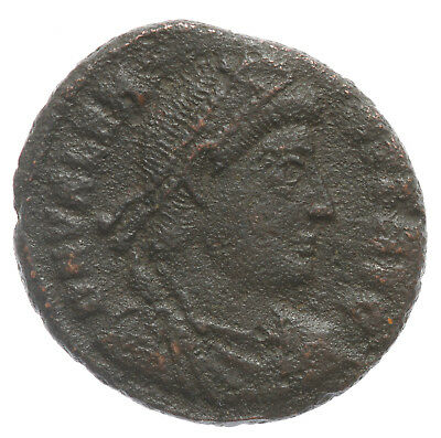 ROMAN BRONZE COIN FOLLIS VALENS SECURITAS REIPUBLICAE SISCIA MINT AE18 2,52g